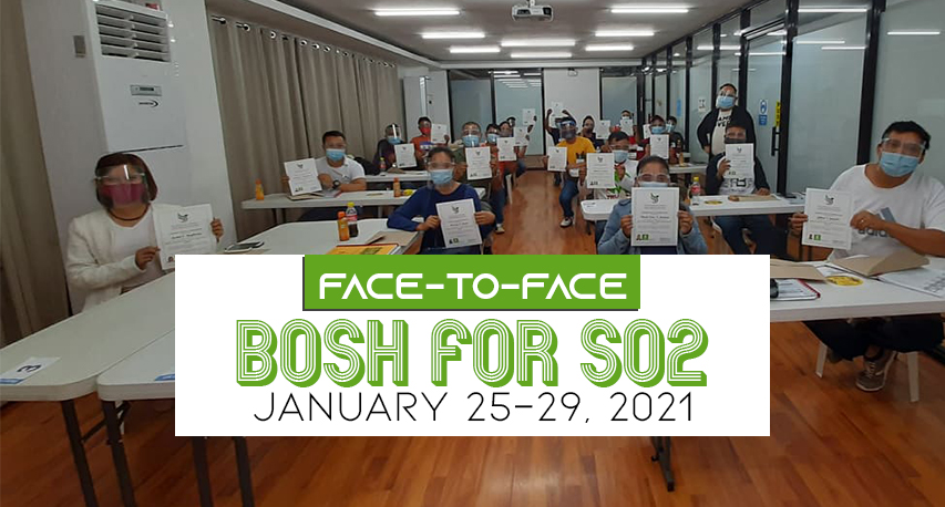 Basic Occupational Safety and Health (BOSH) for SO2
